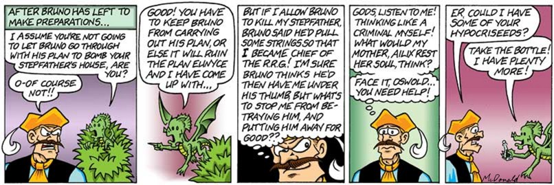 (Hypo)Critical Of His Own Plan? (24 of bunches of lots) (Discuss this strip on the ?)